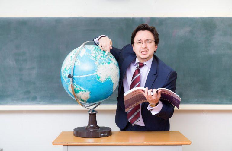 故郷をあまり知らないドイツ人ハーフの講師の写真素材
