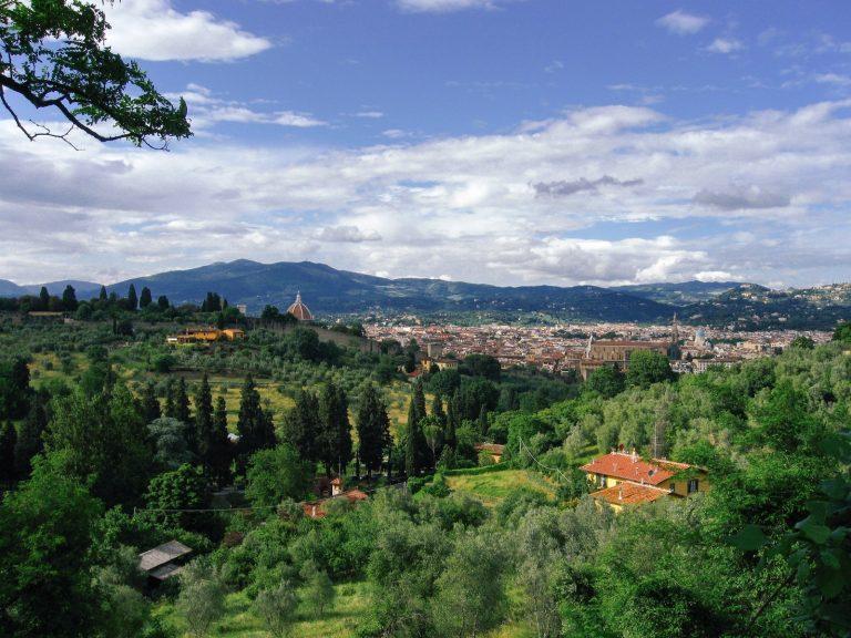 イタリアの田園風景